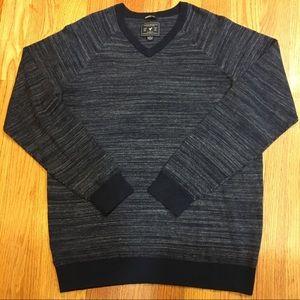 NEW American Eagle Soft V-Neck Sweater - Navy Blue